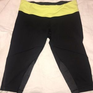 Lululemon 3/4 jogging pants